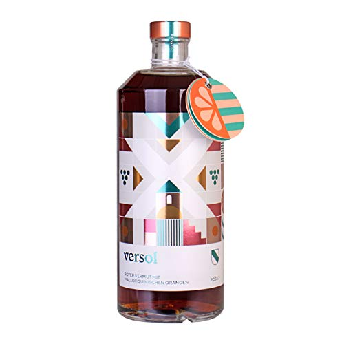 LAUX Versol Roter Wermut 18% Premium mit mallorquinischen Orangen 750ml