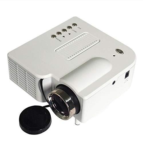 Link Co Proyector Video de Elephas proyectando Máquina de teléfono Inteligente Cámara HD de Proyección de Casa Reproductor de películas portátil Vida de la lámpara Mejorada con Soporte 1080p