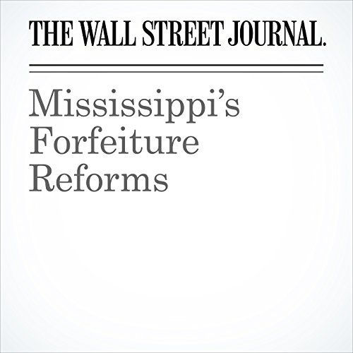 Mississippi's Forfeiture Reforms copertina