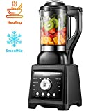 AICOOK Blender, Professional Blender for Cooking and Smoothies, Soup Maker Including 60oz Quality...
