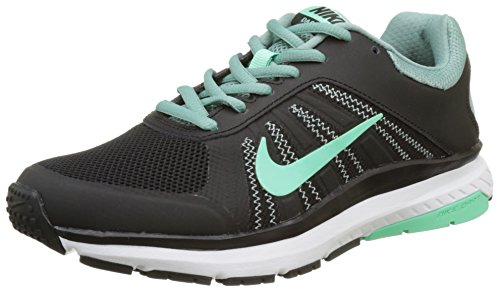 Nike Womens Dart 12 Running Trainers 831535 Sneakers Shoes (US 7, Black Green Glow Cannon 005)
