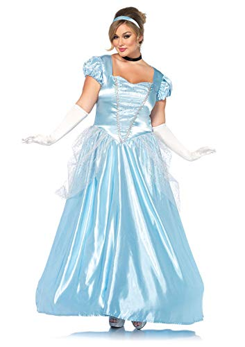Leg Avenue Women s Costume, Blue, 3X   4X