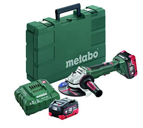 """Metabo 18V 6"""" Angle Grinder 6.2Ah Kit - 613076640"""