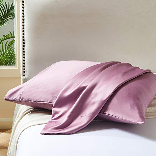 2-Pack Satin Pillowcase for Curly Hair $7.00 (50% OFF Coupon)