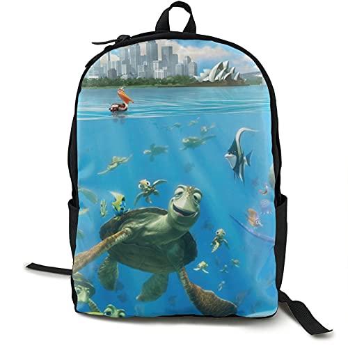 Buscando Nemo Mochila para niños adultos DurableTravel Laptop School Outdoor Hombres y Mujeres Regalo Universitario 5.5x12.5x16.5 pulgadas