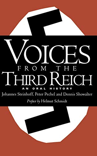 Price comparison product image Voices From The Third Reich: An Oral History