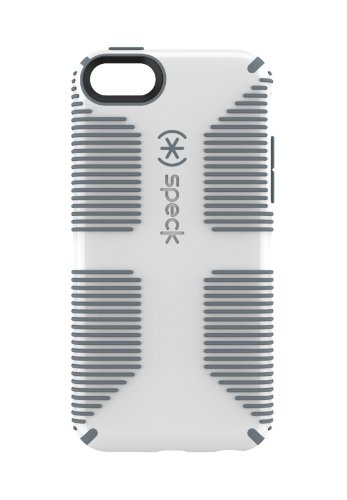 Speck Products CandyShell Grip Case for iPhone 5c  - White/Gravel Grey