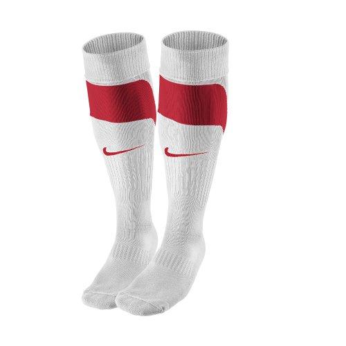 Nike Calzettoni Tournament 361138:103 42-47, bianco/rosso, 42-47