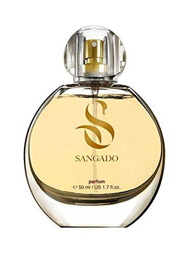 SANGADO Engelsgenuss Parfüm für Damen, 8-10 Stunden Langanhaltend, Luxuriös Duftendes, Orientalisches Vanille, Zarte französische Essenszen, Extra-konzentriert (Parfüm), Ideales Geschenk, 50ml Spray