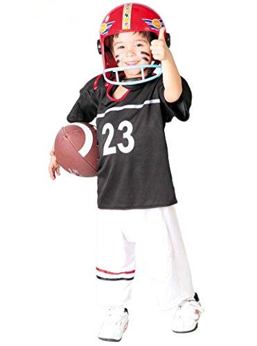 Disfraz de quarterback Talla 7-9 a?os