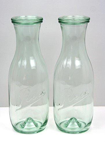 Weck Pyramidenflasche 2er Set Rex Wasserenergetisierung NEU