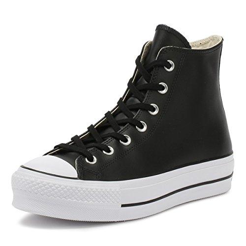Converse - Ctas Lift Clean Hi 561675C - Black White, Taglia:37.5 EU