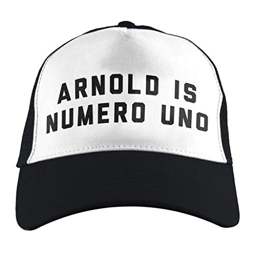 Cloud City 7 Arnold Schwarzenegger Arnold Is Numero Uno, Trucker Cap