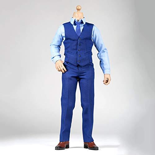LTLGHY 1/6 Juego De Disfraz De Sin Costuras, Man'S Gentleman Suit Conjuntos De Ropa para Figuras De Accin De 12 Pulgadas