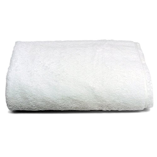 Luxury White Bath Sheet, Egyptian Cotton, Ultra Soft & Absorbent By Winter Park Towel Co. (Oversized...