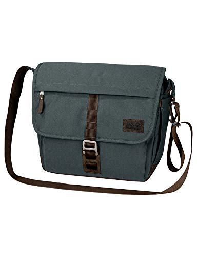 Jack Wolfskin Unisex Camden Town Shoulder Bag, Greenish Grey, ONE Size