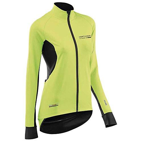 Northwave Extreme H2O Light TP dames fiets regen/windjack geel/zwart 2020