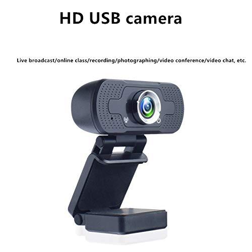 DYHG Pc-Webcam Mit Integriertem MikrofonHd 1080p Webcam Weblektion Unterricht Mit Mc Webcam USB Treiberfreie Live-Kamera