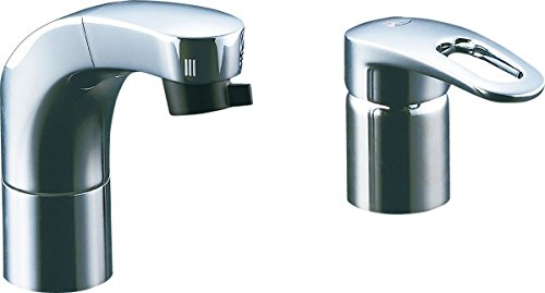 リクシル 化粧台向けホース引出洗髪シャワー水栓 RLF-682Y