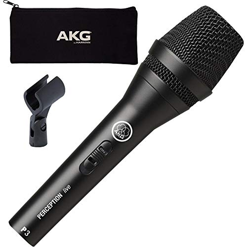 Akg P3 S, Dynamisches Mikrofon Für Gesang Und Instrumente