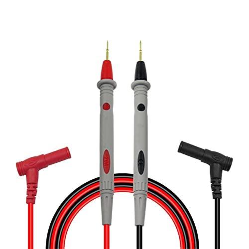 Cables de prueba del multímetro, CLEETEE MULTIMETER SONDES SONDAS Rejustes Agujas Pruebas de prueba Sondas de kits para el Multímetro Digital Tapelador de cables para Multímetro para multímetro, voltí