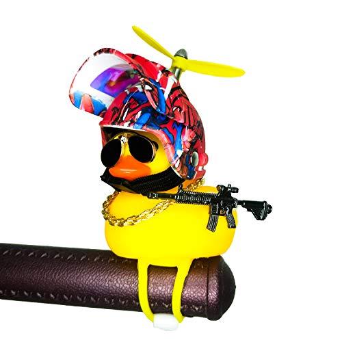 Shermosa Pato de Goma para Bicicleta con Casco Patito de Goma Baño...