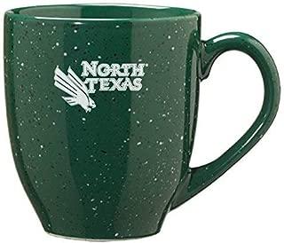 LXG, Inc. University of North Texas - 16-Ounce Ceramic Coffee Mug - Green