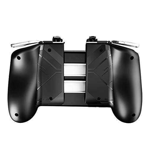 Newseego PUBG Mobile Game Controller, Mobile Gaming Joysticks Sensitive Shoot Aim Griff Gamepad with L1R1 Trigger für iOS & Android für Knives Out - Schwarz