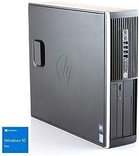 Hp Elite 8300 SFF - Ordenador de sobremesa (Intel Core i5-3470, 3.2 GHz, 8GB de RAM, Disco SSD de 240GB + 500GB HDD, Lector, Windows 10 Pro ES 64) (Reacondicionado)