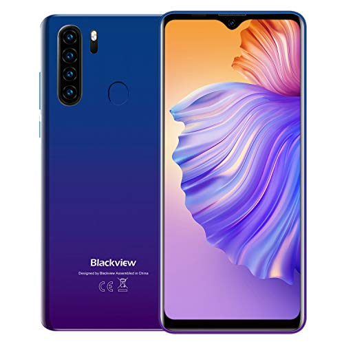 Teléfono Móvil Libres 4G, Blackview A80 Plus 2021, 6.49' HD+ Water-Drop...