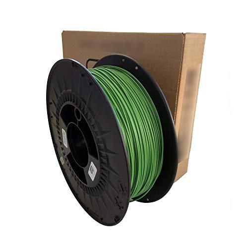 Filament 3D printer - PET-G colour Metallic green - 1.75 mm - Weight 1000 g (1 kg) 3D printing
