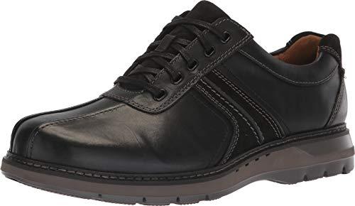 Clarks New Men's Un Ramble Go Oxford Black Leather 11