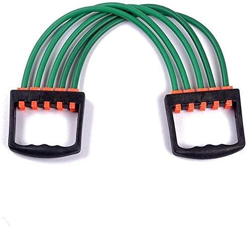 A/N Tensores Musculacion MúSculo Extensor - Resistencia Al Ejercicio Fitness Cable Band Tubo Yoga 5 Resistencia Al LáTex-Verde