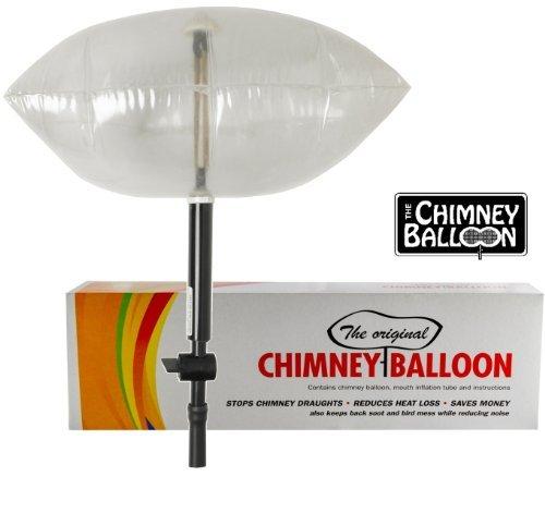 Chimney Balloon Kit pour cheminée tubée Conduits jusqu'à 31 x 31 cm + tube gratuit