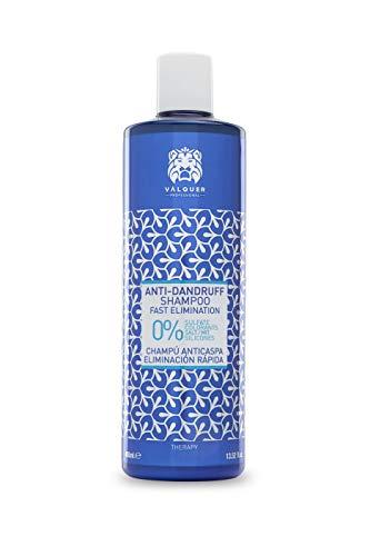 válquer Shampooing anticaspa. Elimine la Caspa. Shampooing Zero ; sans sulfatos -400 ml