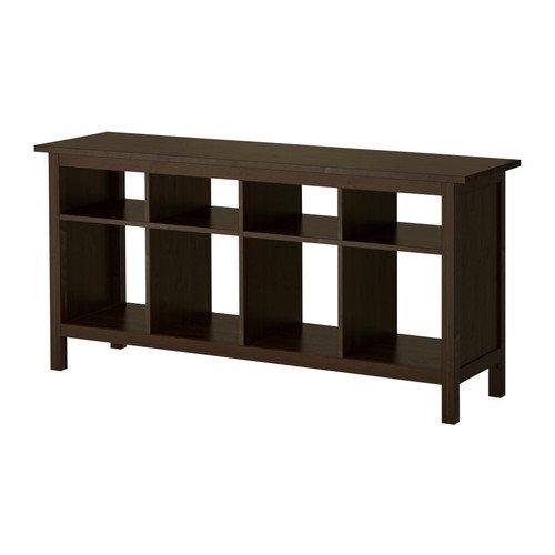Ikea New Hemnes Sofa Tisch Schwarzbraun Massivholz