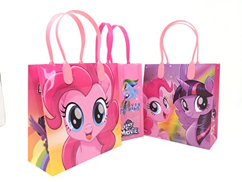 Sale!! My Little Pony Character 12 Premium Quality Party Favor Reusable Goodie Small Gift Bags