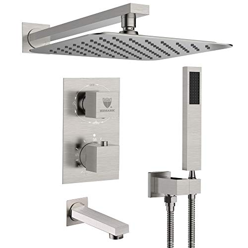 HIMK Shower system,Shower Faucet Set with Tub Spout and 10