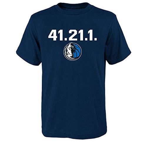 41.21.1 Ruhestand Memorial Mavericks Lone Ranger Nr. 41 Nowitzki Retired Kurzarm T-Shirt