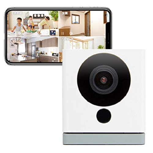 【Amazon Alexa 認定取得】ネットワークカメラ ATOM Cam(アトムカム):1080p フルHD 高感度CMOSセンサー搭載...