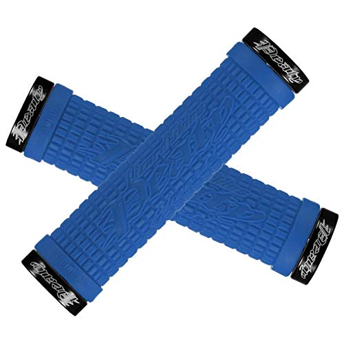 Lizard Skins Peaty Fahrradgriffe für Erwachsene, Unisex, Blau, Einheitsgröße