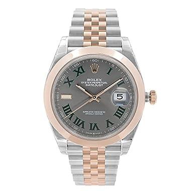 Rolex Datejust 41 Grey Dial Men's Steel...