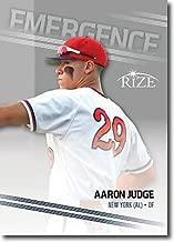 AARON JUDGE 2015 LEAF BASEBALL ROOKIE CARD #01! NEW YORK YANKEES!