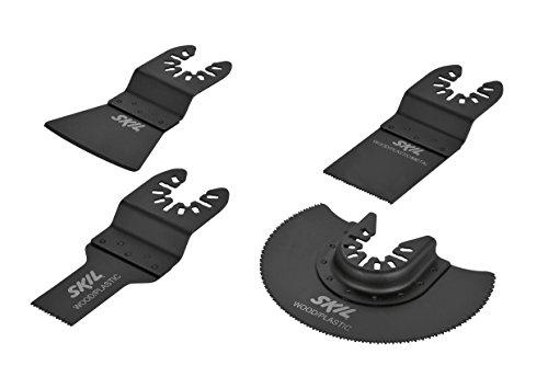 Bosch Home and Garden 2610Z06867 Set mit 4 Multifunktionszubehörteilen, schwarz