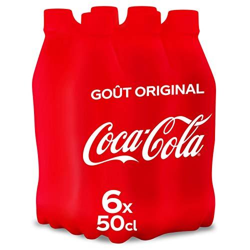 Coca-Cola Bouteille 6 x 50 cl