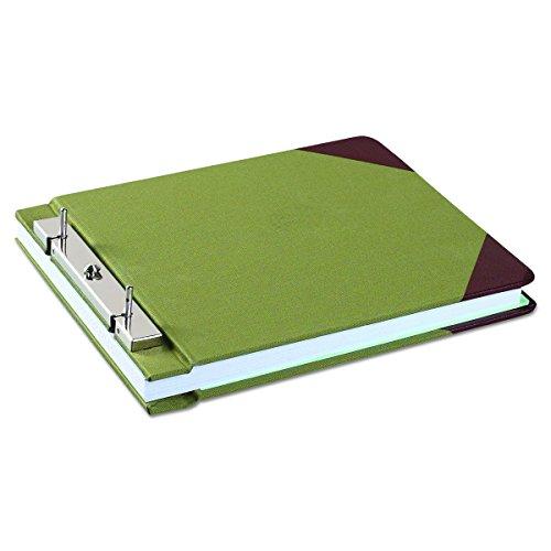 Wilson Jones Canvas Sectional StoragePost Binder For 8-1/2 X 11 Sheets, 4-1/4