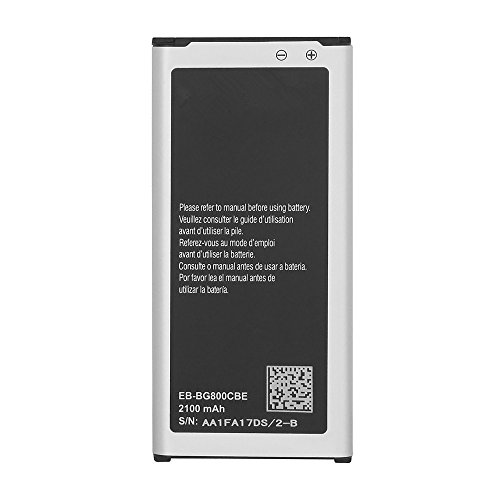 Generico Batteria ad Alta capacità Compatibile con Samsung Galaxy S5 Mini G800F