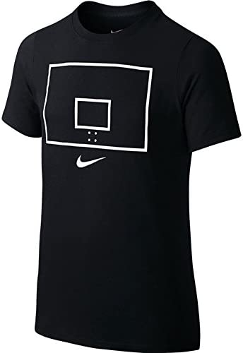 Nike Camiseta Backboard en Color Negro para Niño