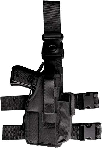Craft Holsters Glock 45 Compatible Holster - Tactical Cordura Holster w Extra Mag (PA270)