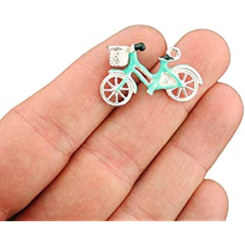 Bicycle Clip on Charm Perfect for Necklaces and Bracelets 100Ai Its All About...You
